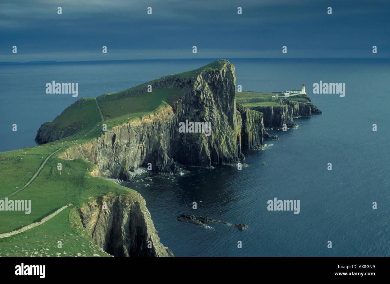 Neist Point, Skye, Innere Hebriden, Schottland Grossbritanien - Stock Image