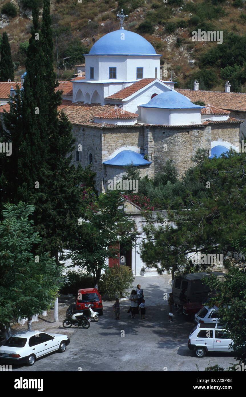 Kloster Timiou Stavrou, Samos Griechische Inseln - Stock Image