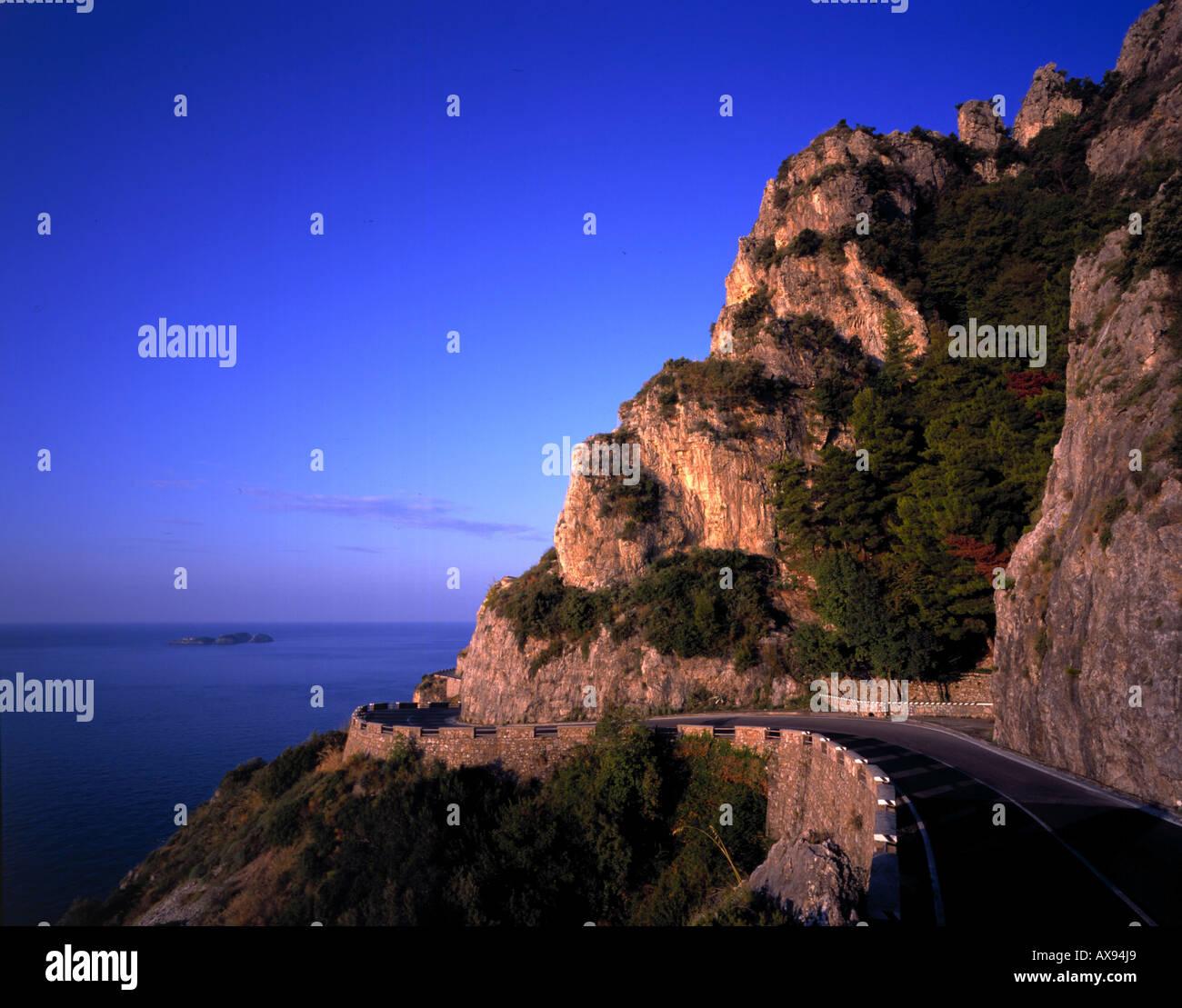 Amalfitana, Kampanien Italien - Stock Image