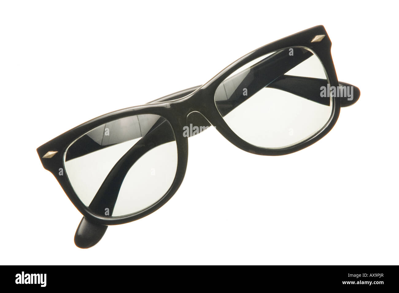 thick black framed eye glasses Stock Photo: 16775806 - Alamy