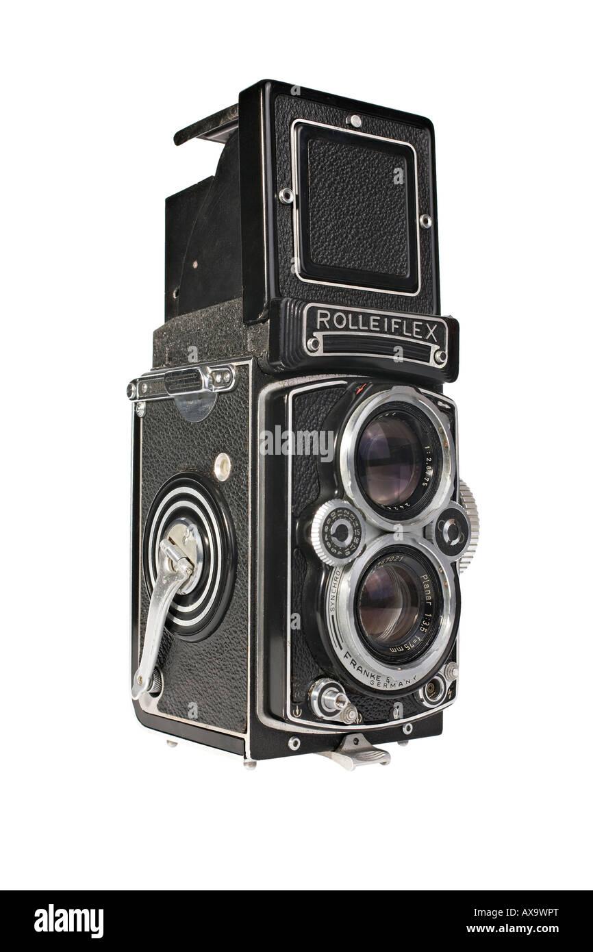 Rolleiflex Camera Stock Photos & Rolleiflex Camera Stock