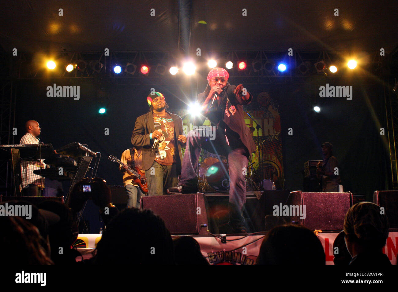 Reggae Artists performing at Spring Break Concert Negril Jamaica