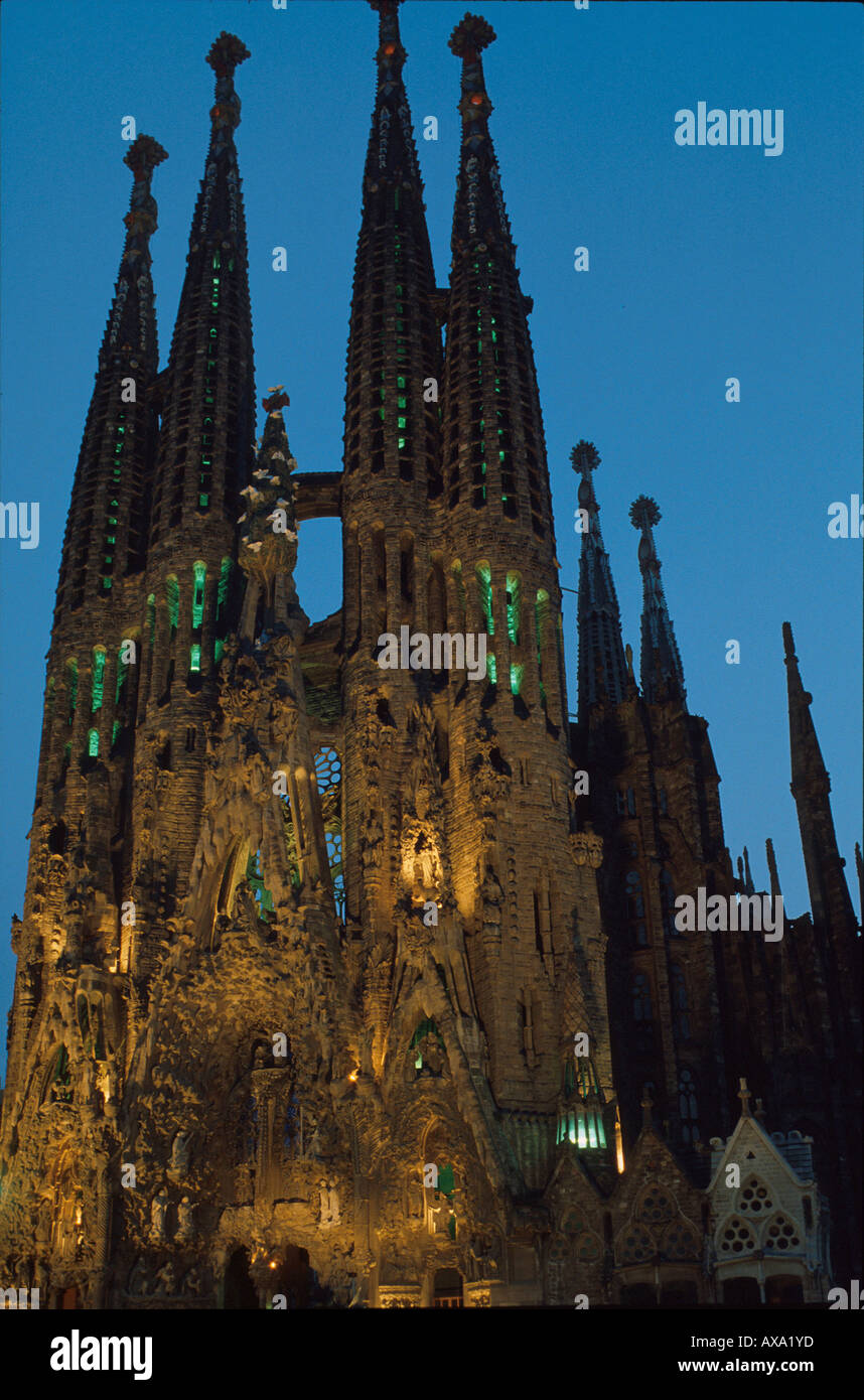Antonio gaudi stock photos antonio gaudi stock images alamy - Architekt barcelona ...