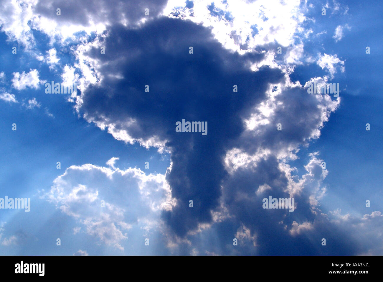 African Cloud, Map of Africa, Cape Town, South Africa, Kapstadt