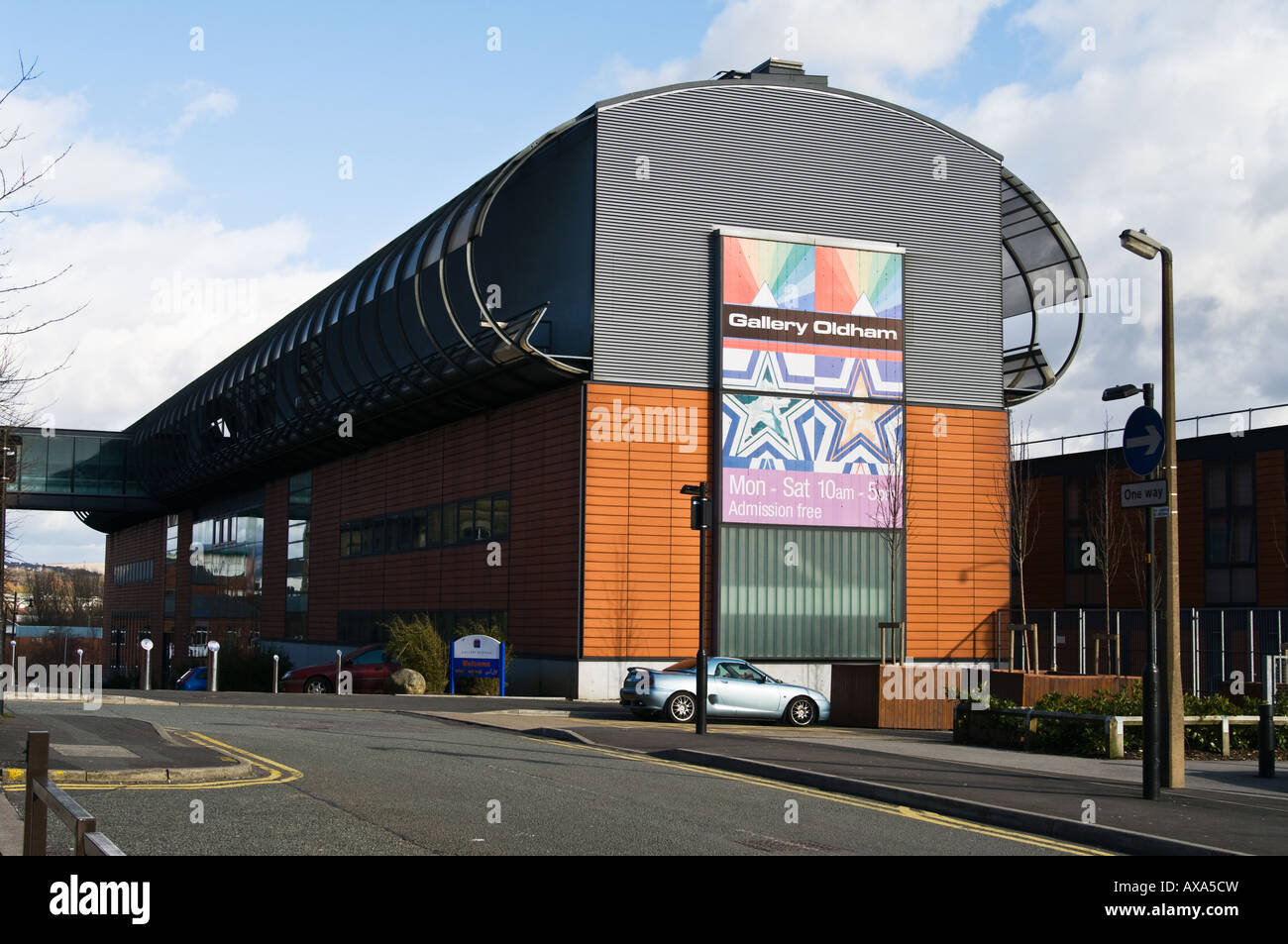 Gallery Oldham - Stock Image