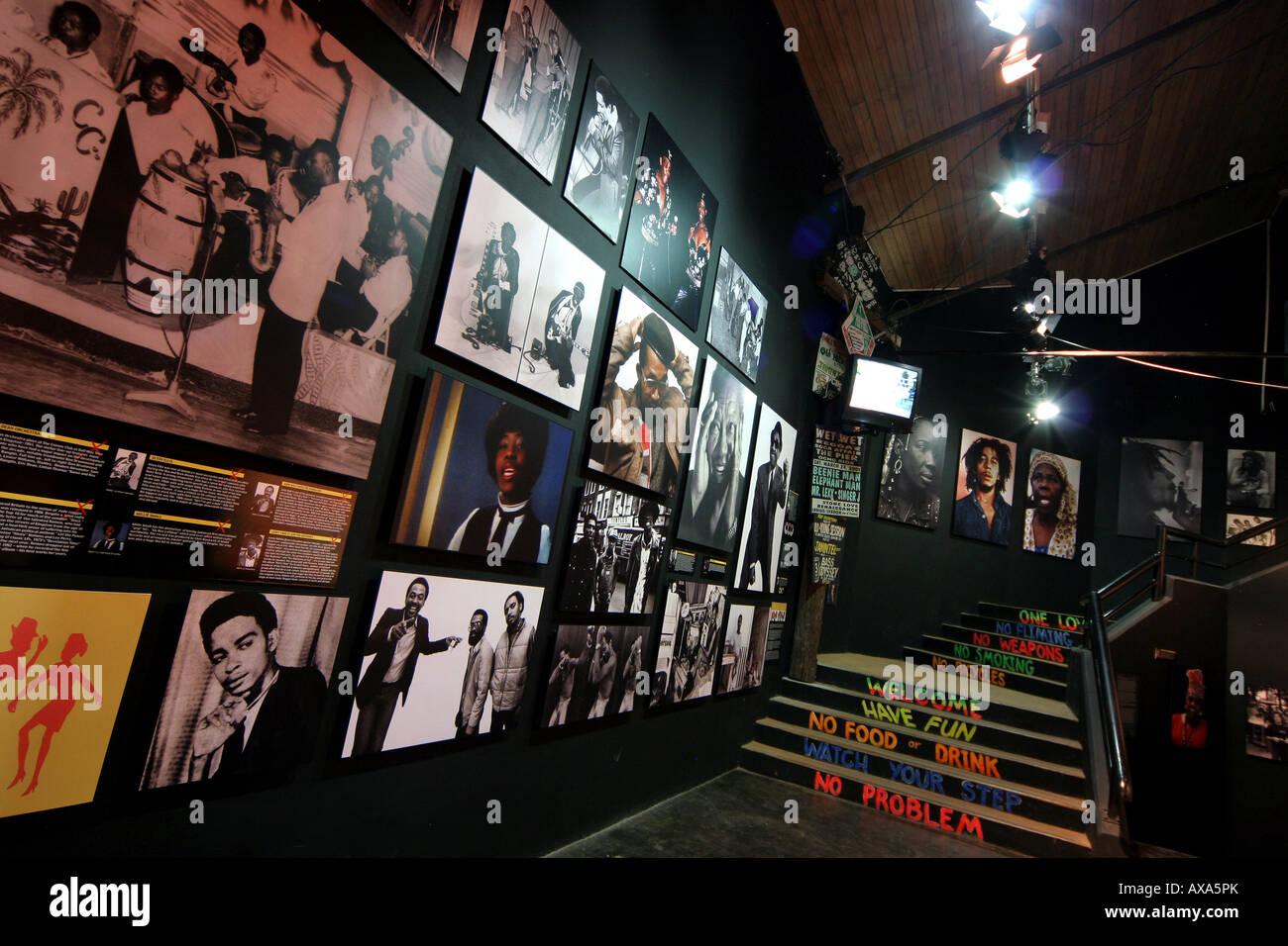 Reggae Explosion Museum - Stock Image