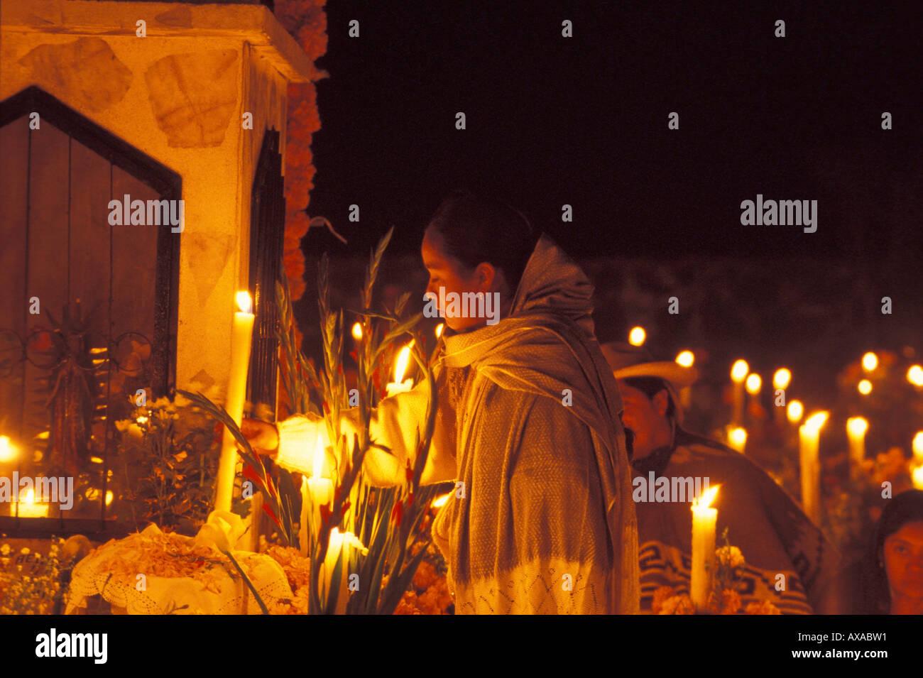 Gedenken am Tag der Toten, Mittelamerika Mexico - Stock Image