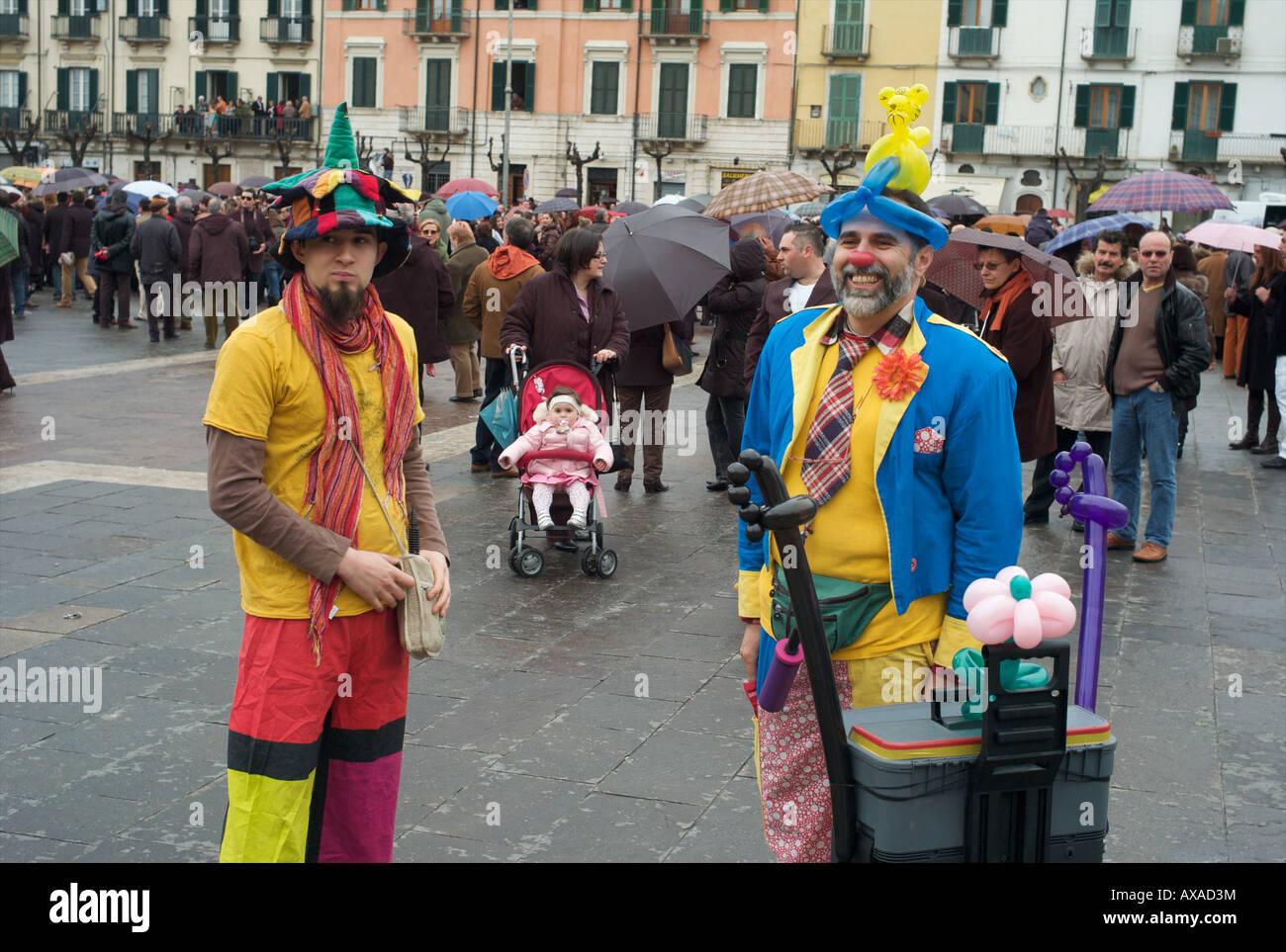 Sulmona easter in Italy - Stock Image