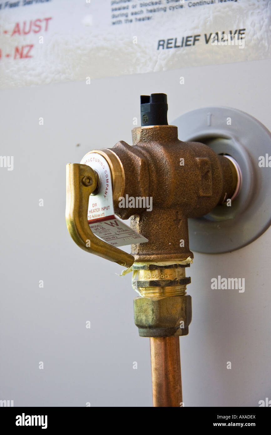 Pressure relief valve stock photos