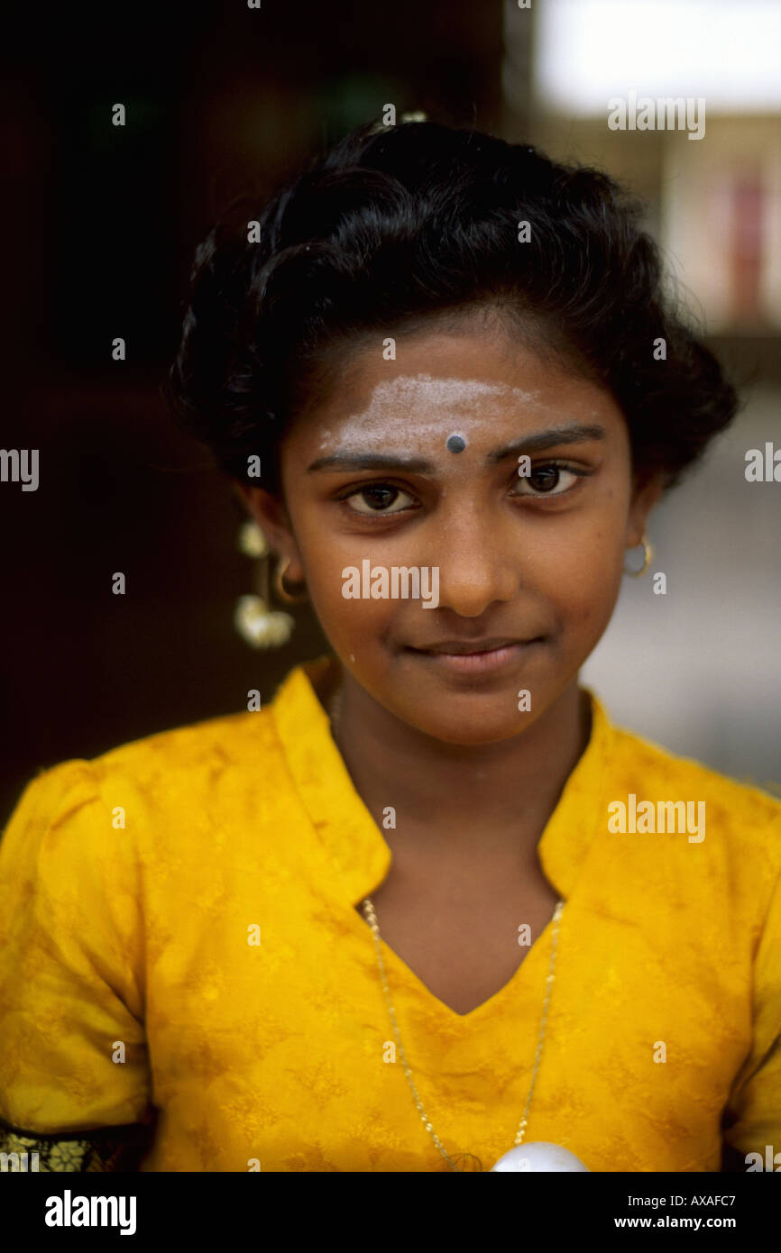 Tamil girl in singapore