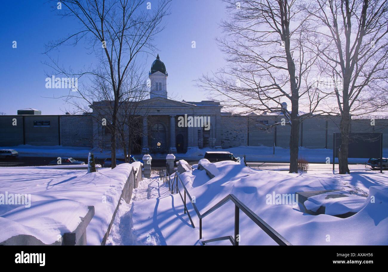 Maximum Security penitentiary for men at Kingston Ontario CANADA - Stock Image