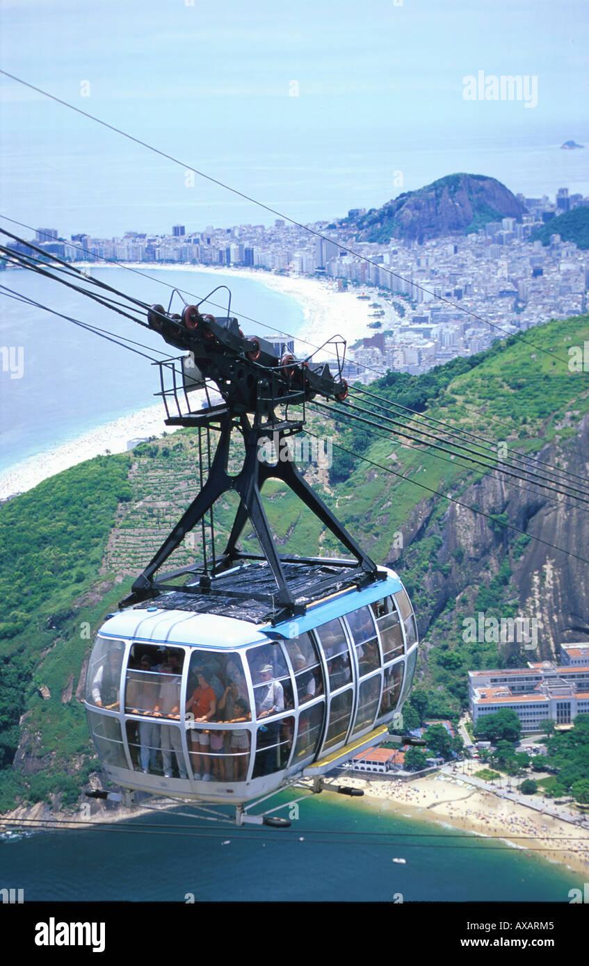 Ueberblick-Rio de Janeiro, Brasilien - Stock Image