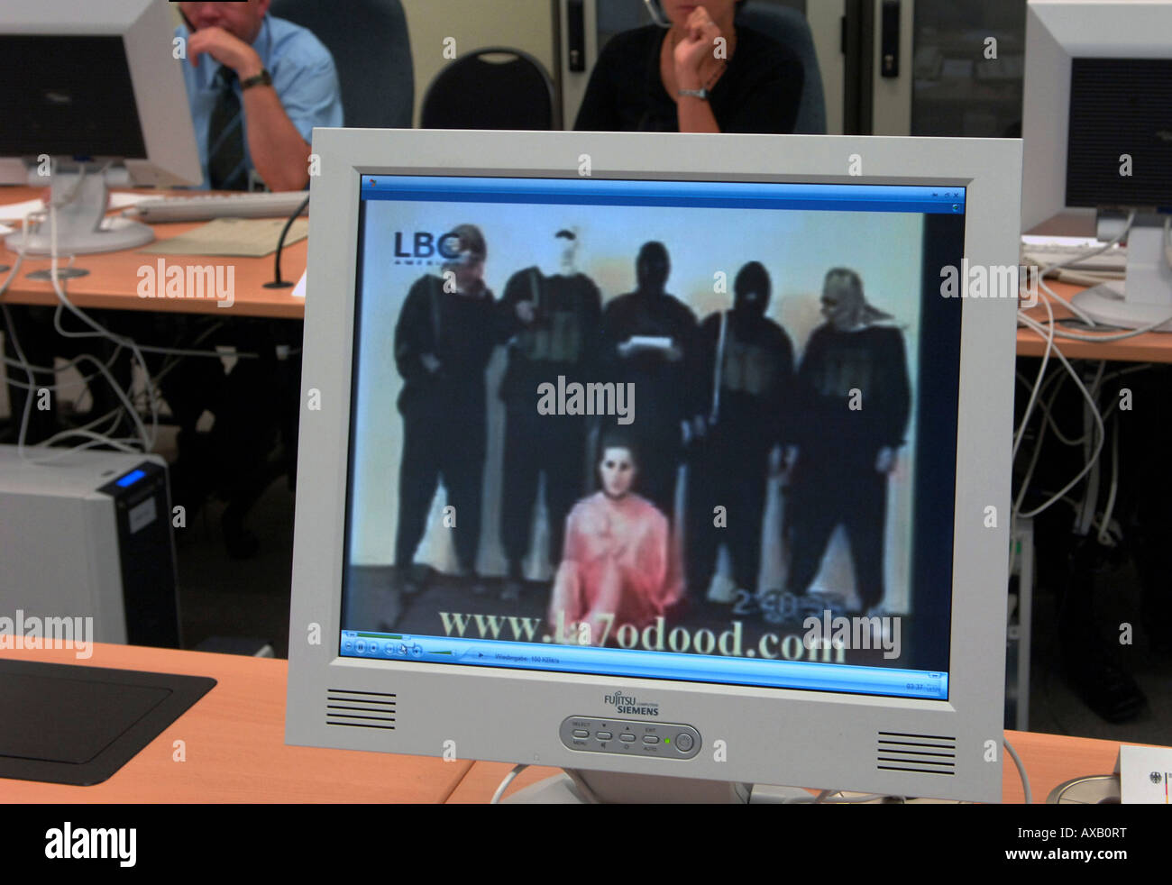 The Common Anti-Terror Center in Berlin, Germany Stock Photo