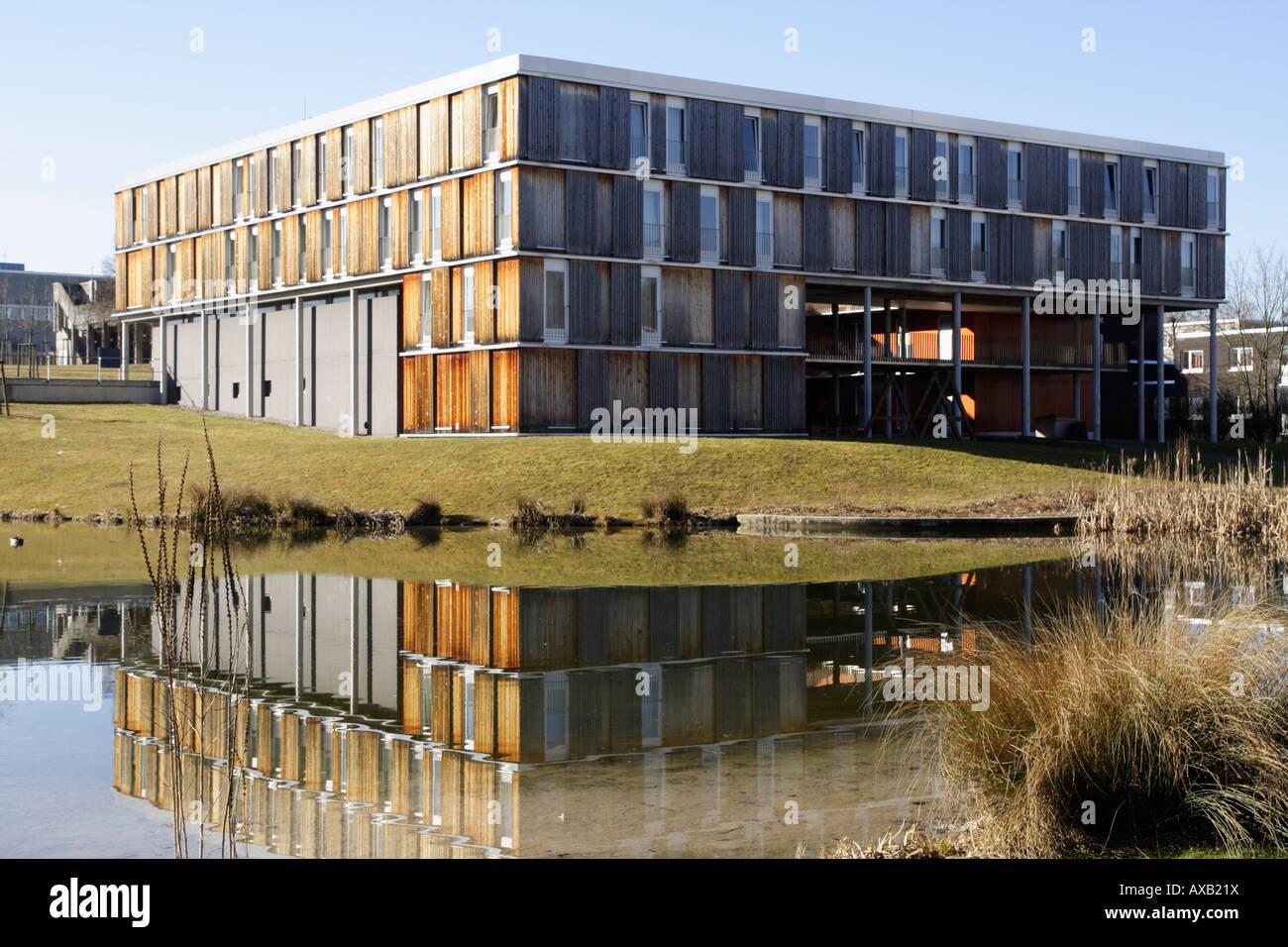 stuttgart university architecture stuttgart germany stock photo