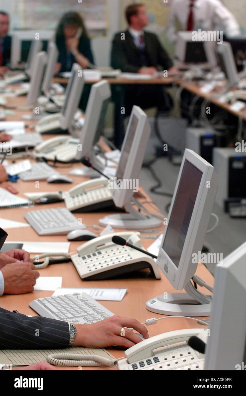 The Common Anti-Terror Center in Berlin, Germany Stock Photo