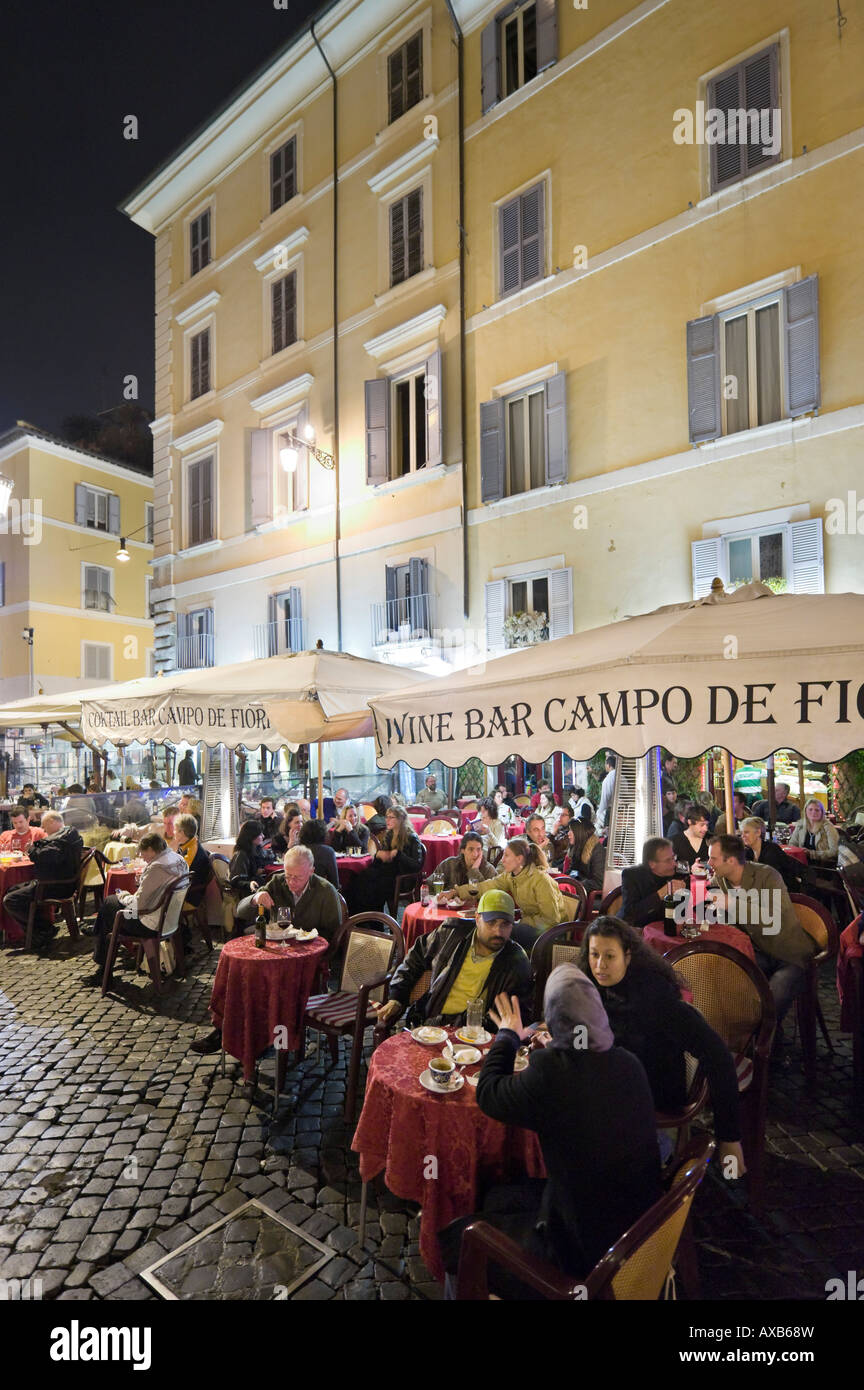 Campo De Fiori High Resolution Stock Photography And Images Alamy