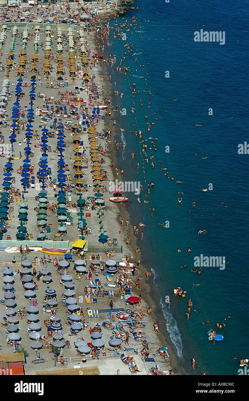Vietri sul Mare, Amalficoast, Campagnia Italy Stock Photo