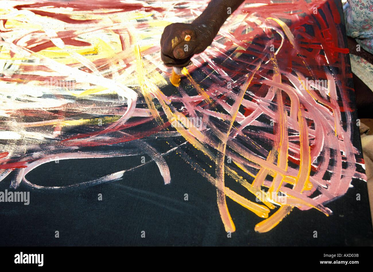 Art By Emily Kame Kngwarreye Famous Aboriginal Artist At Utopia