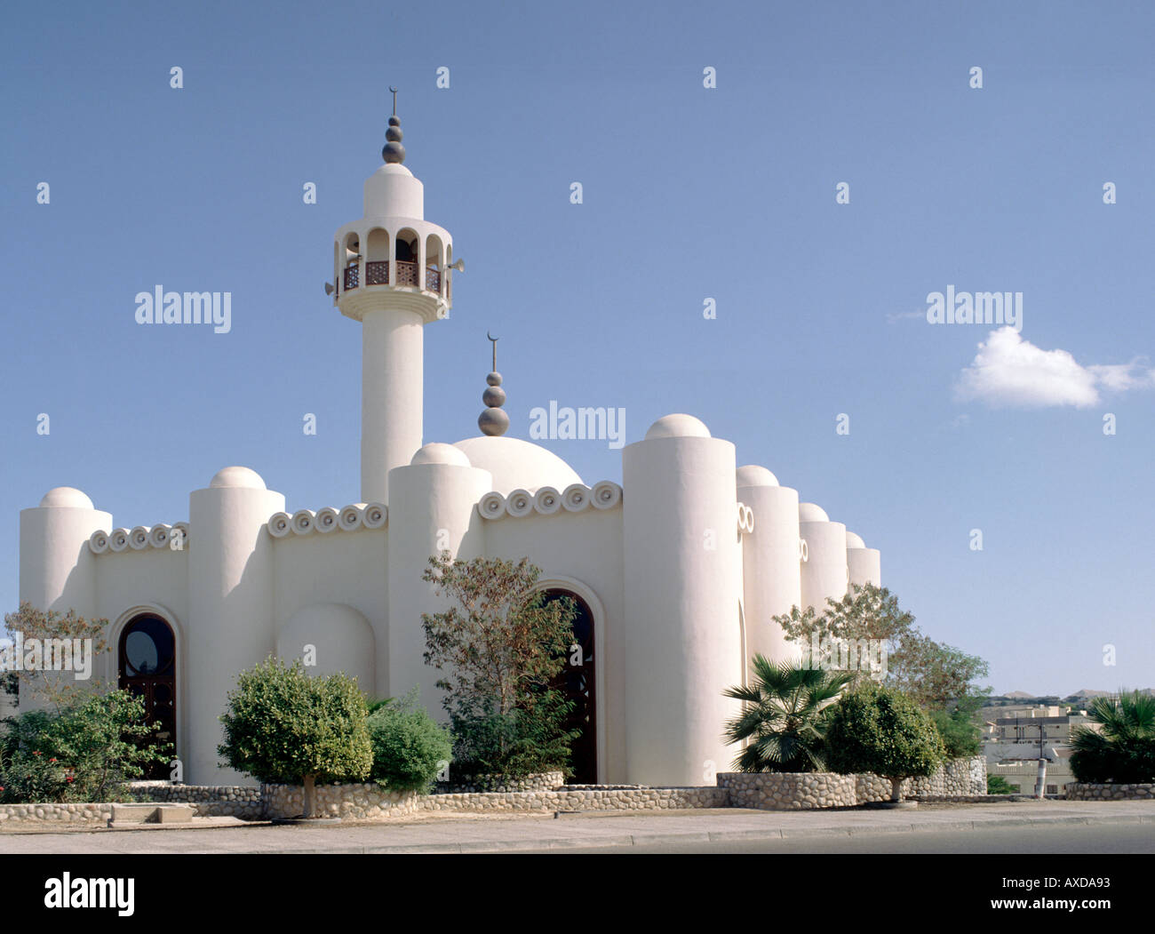 The Qorum Mosque In Muscat The Capital Of Oman Stock Photo