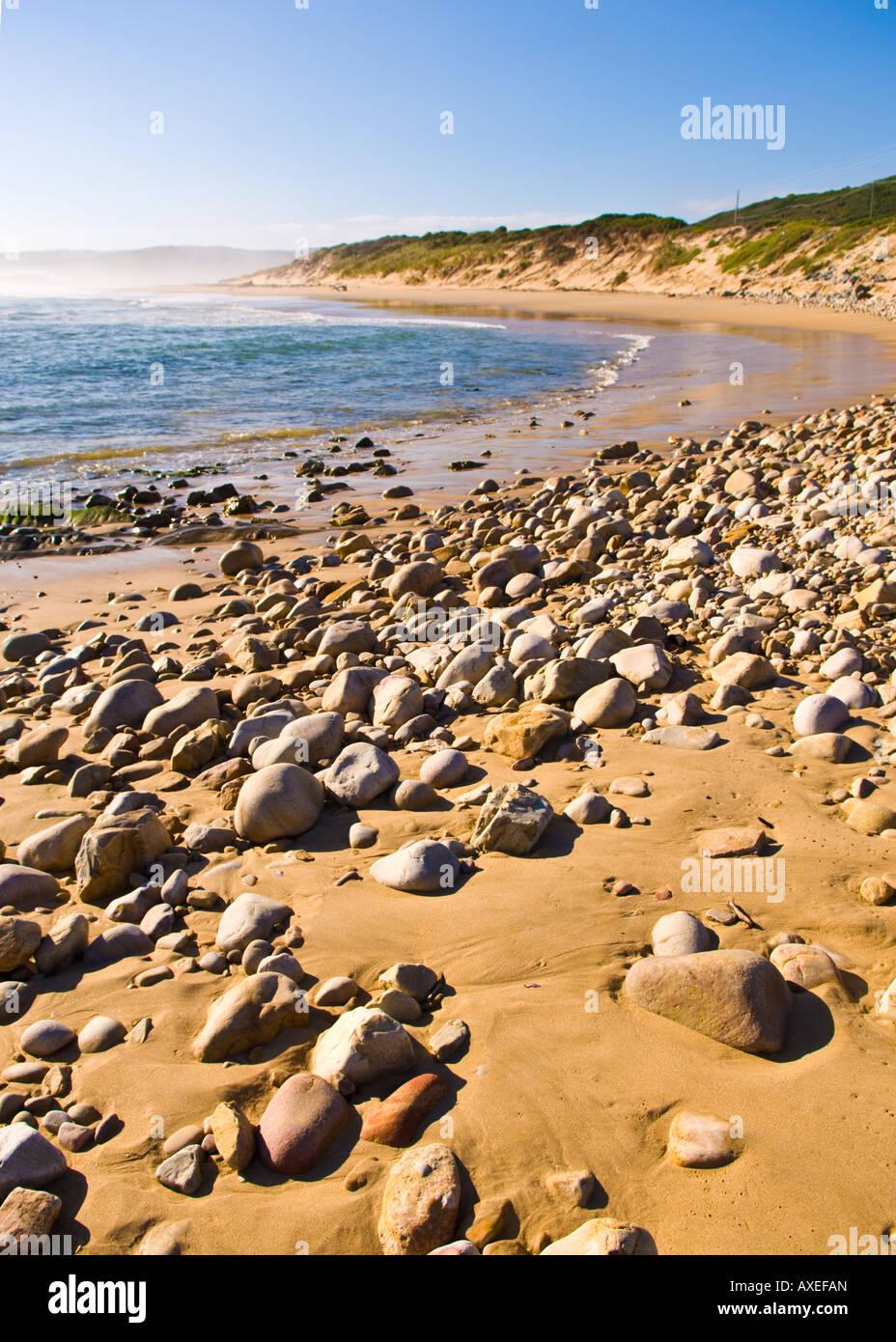 Beachscape. Buffelsbaai. Western Cape. SA. - Stock Image