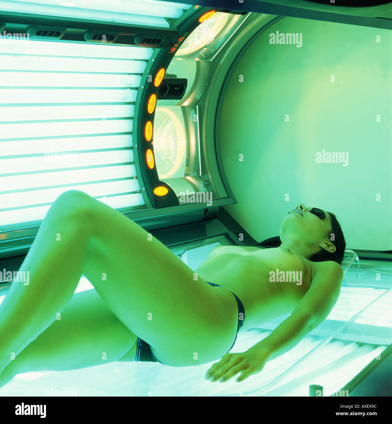 Nude tanning bed woman obviously were
