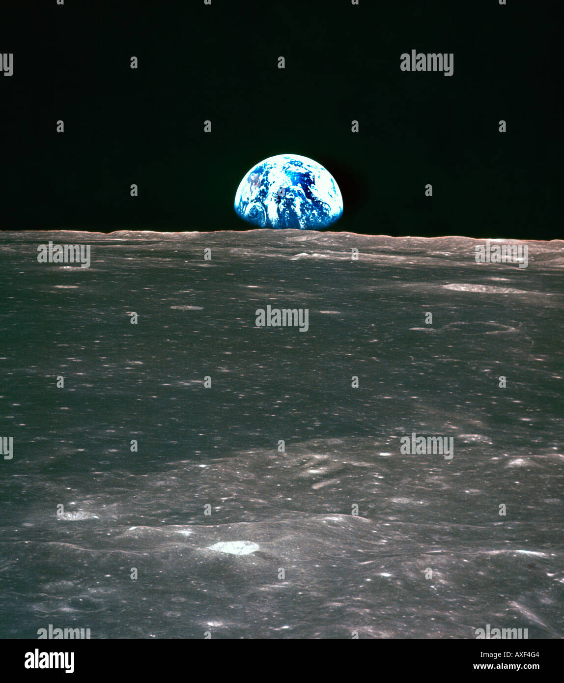 Earth From Moon Stock Photos & Earth From Moon Stock Images