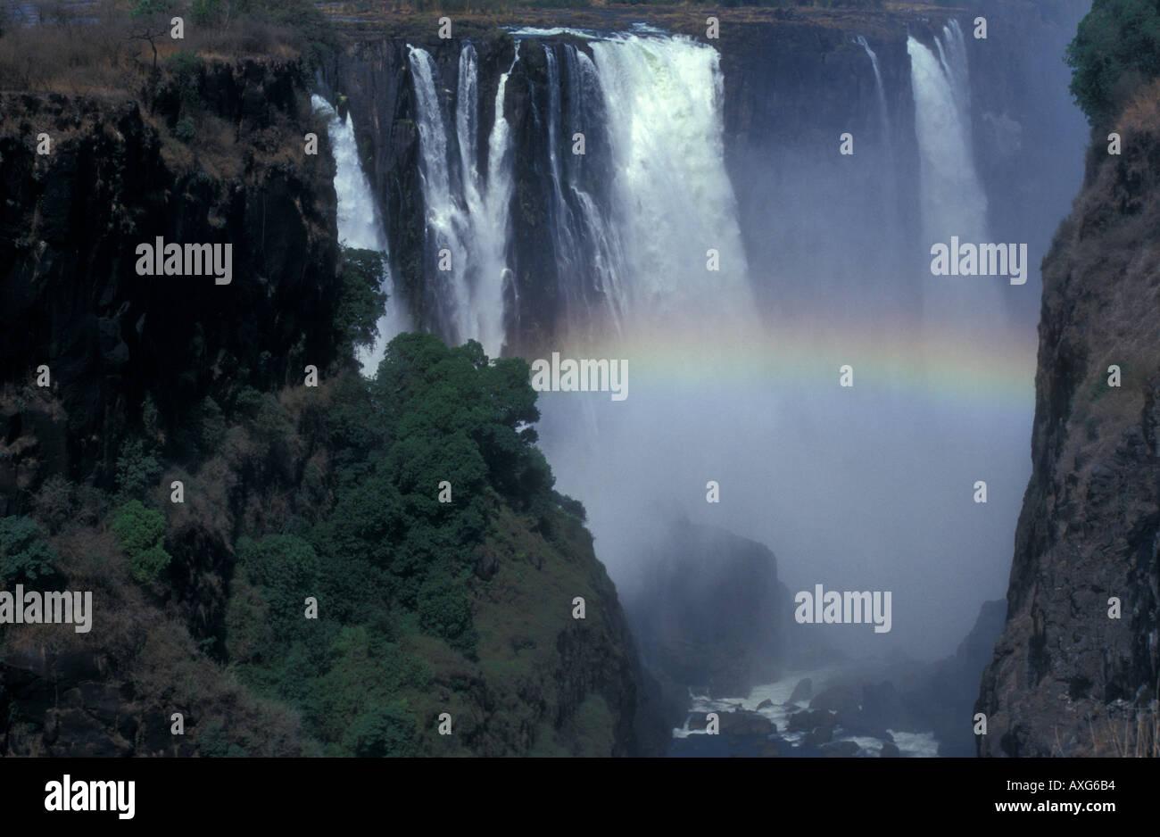 Victoria Falls Vic Falls Zimbabwe Zambia Africa Waterfalls