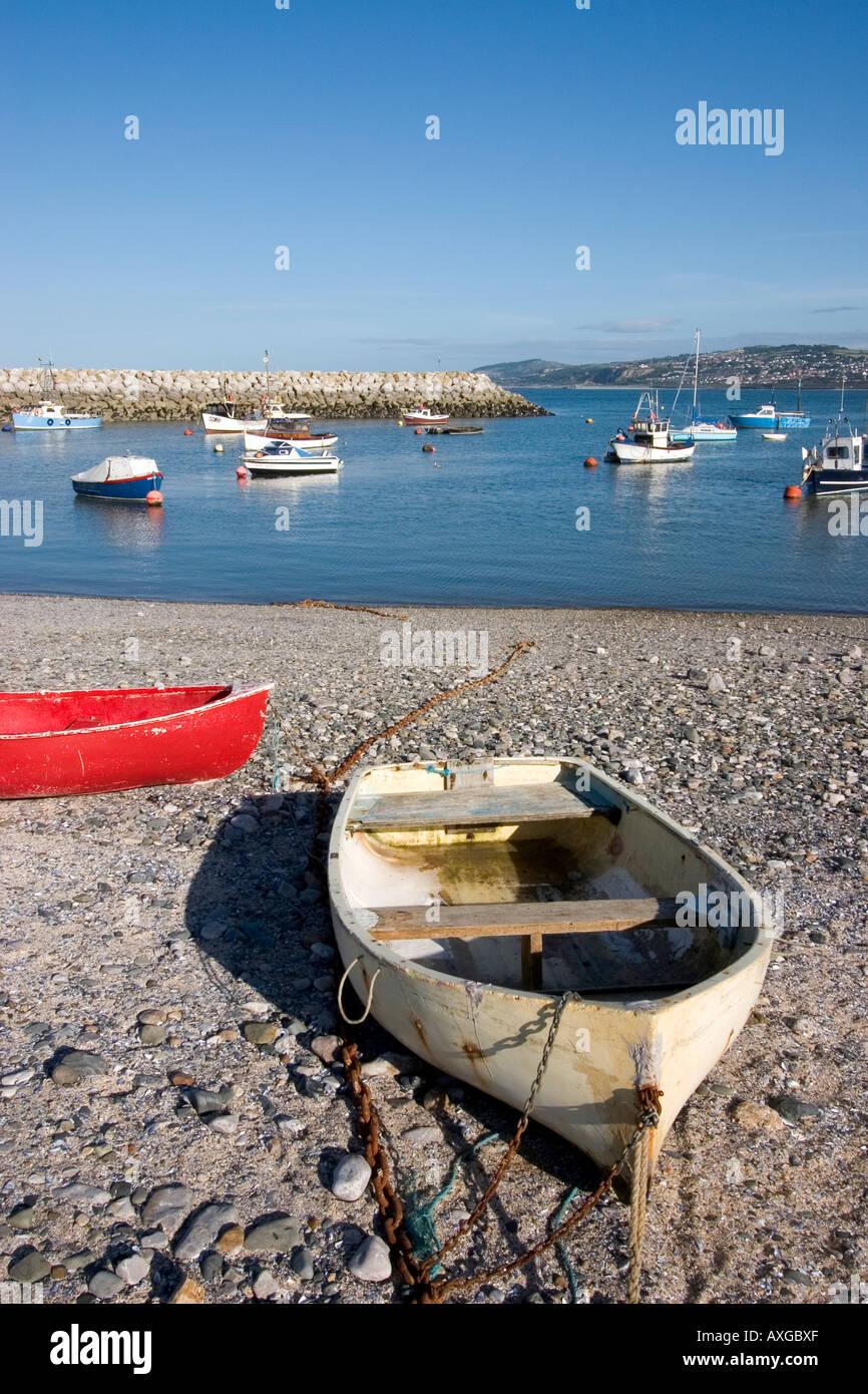 Rhos on sea Colwyn Bay North Wales Stock Photo