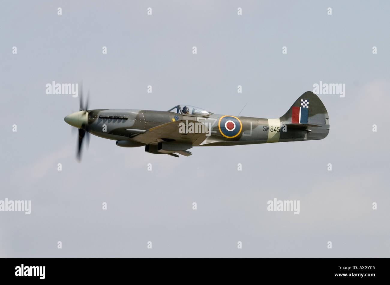 Supermarine Spitfire FR XVIII SM845 - Stock Image