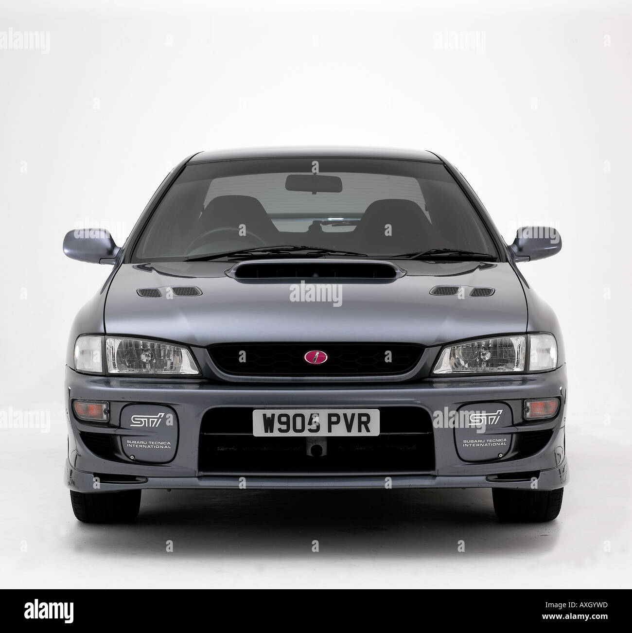 2000 Subaru Impreza Sti Stock Photo