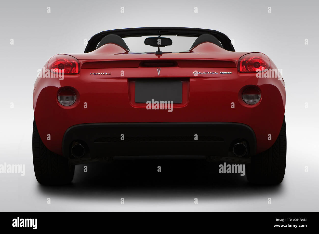 2008 Pontiac Solstice Gxp In Red Low Wide Rear Stock Photo Alamy