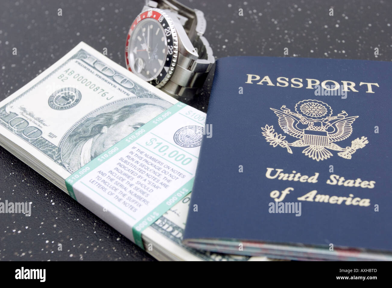 where is us passport serial number