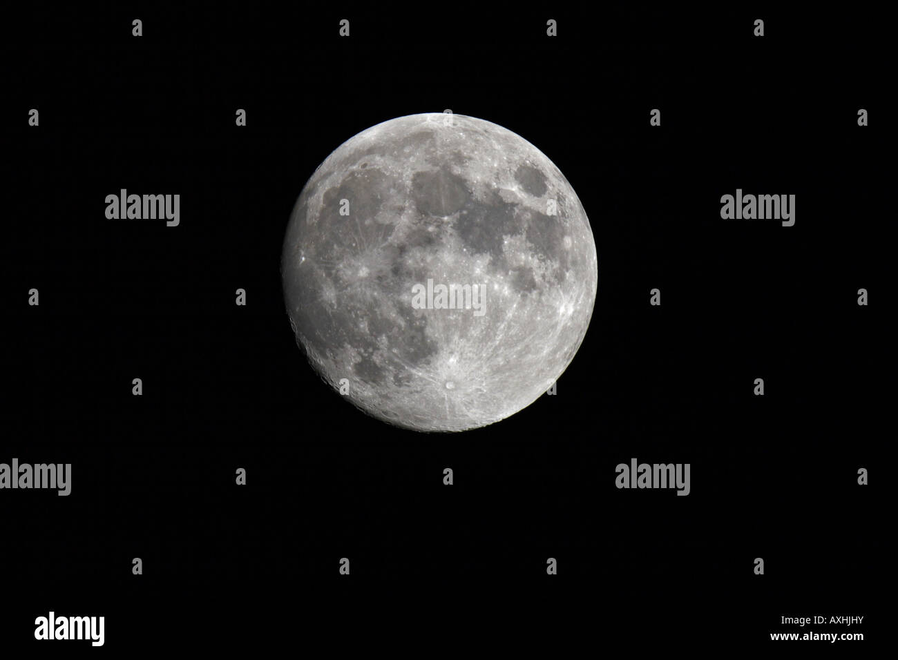 mond moon - Stock Image