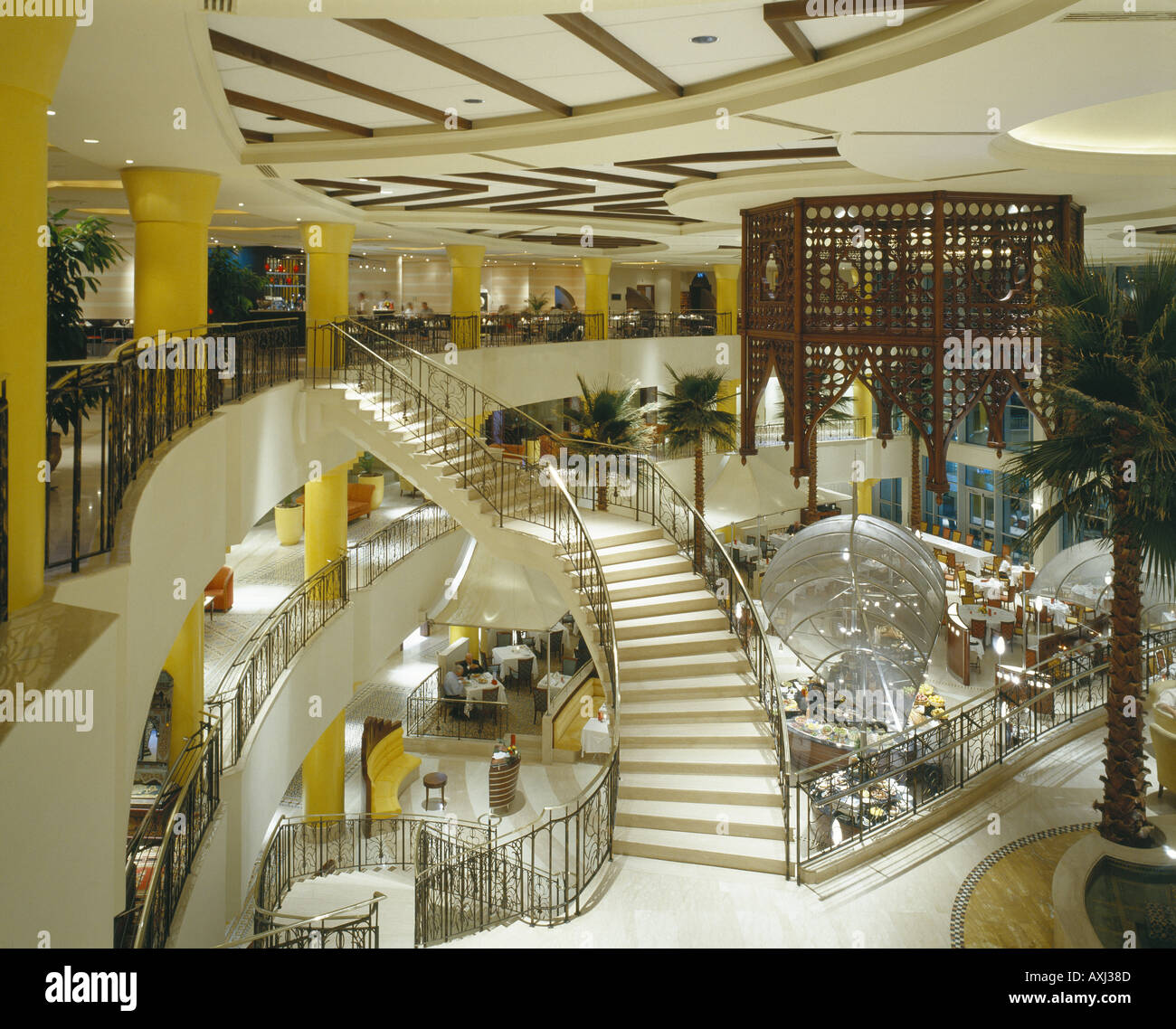 CORINTHIA BAB AFRICA HOTEL - Stock Image
