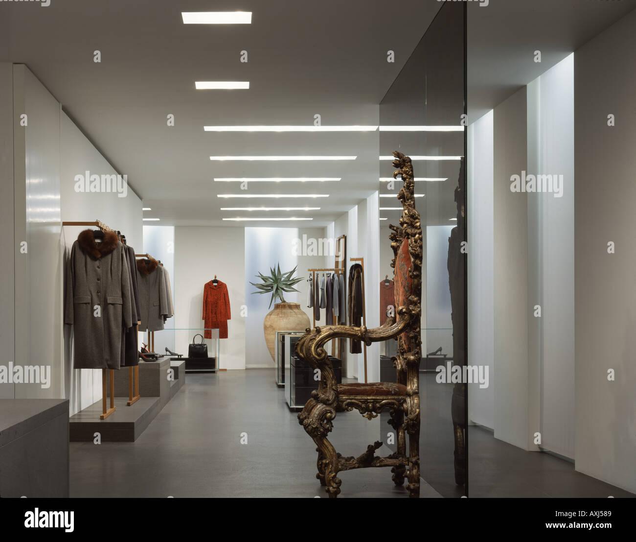 DOLCE GABBANA MILAN - Stock Image