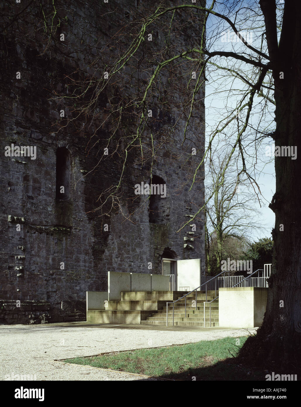 MAYNOOTH CASTLE EXHIBITION SPACE - Stock Image