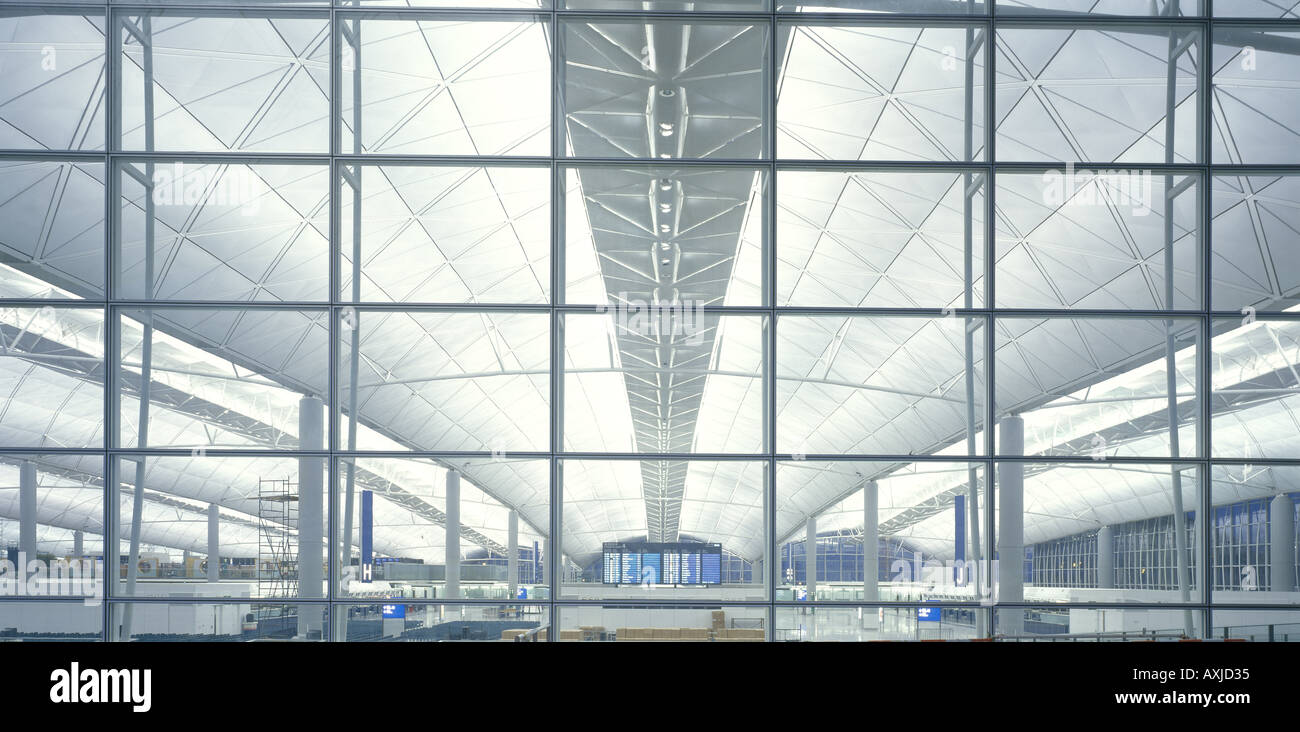 CHEK LAP KOK HONG KONG INTERNATIONAL AIRPORT - Stock Image