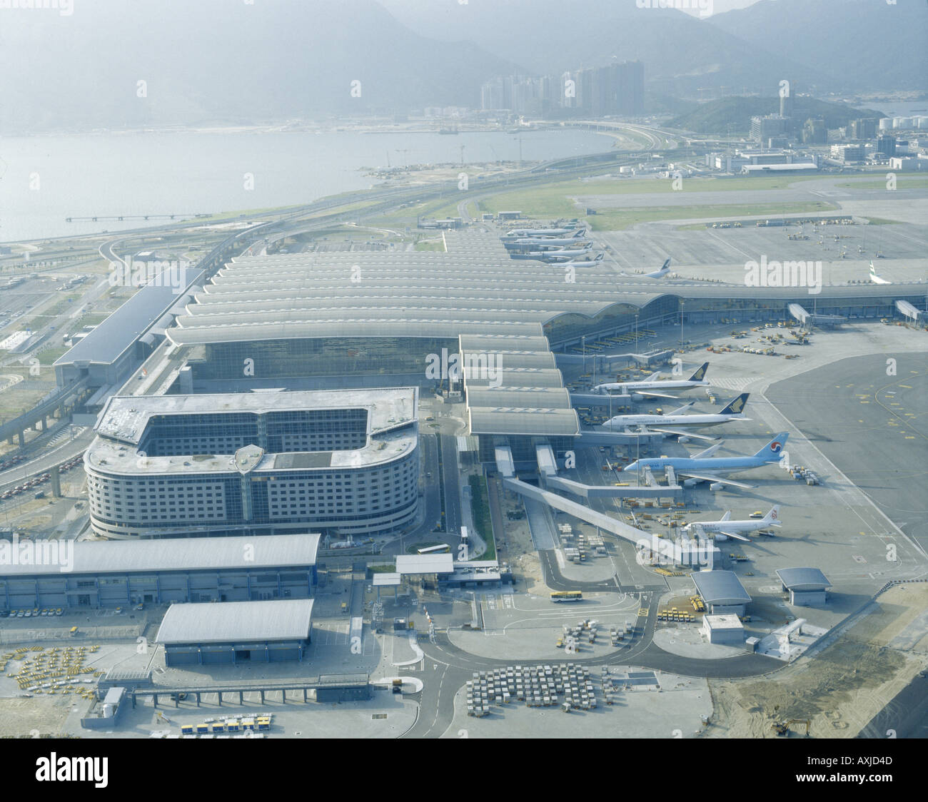 CHEK LAP KOK HONG KONG INTERNATIONAL AIRPORT - Stock Image