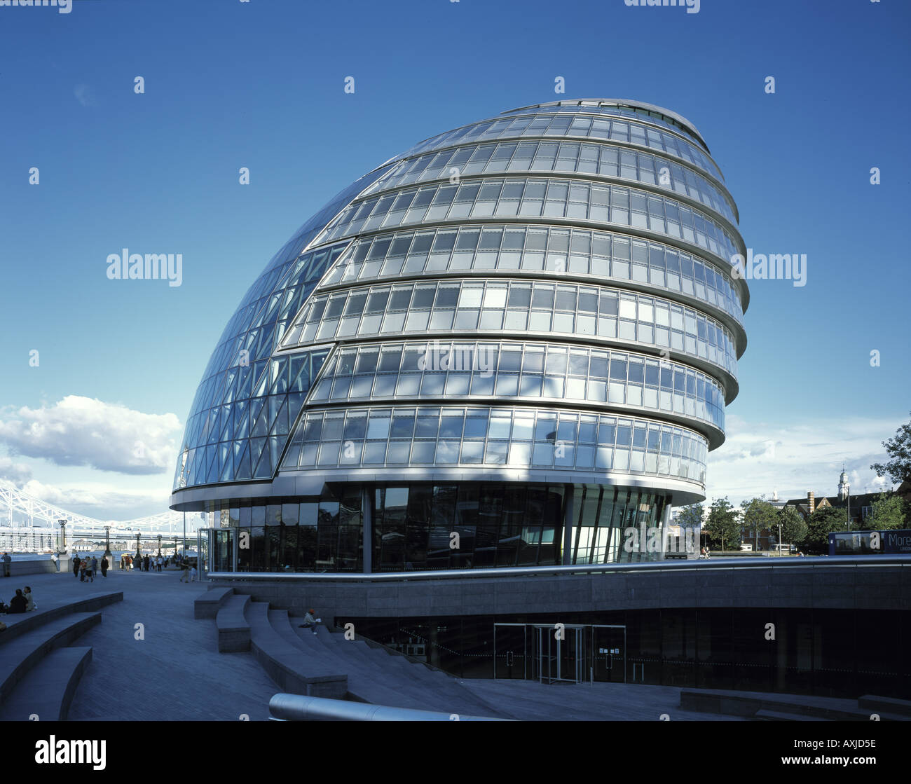 GREATER LONDON AUTHORITY CITY HALL - Stock Image