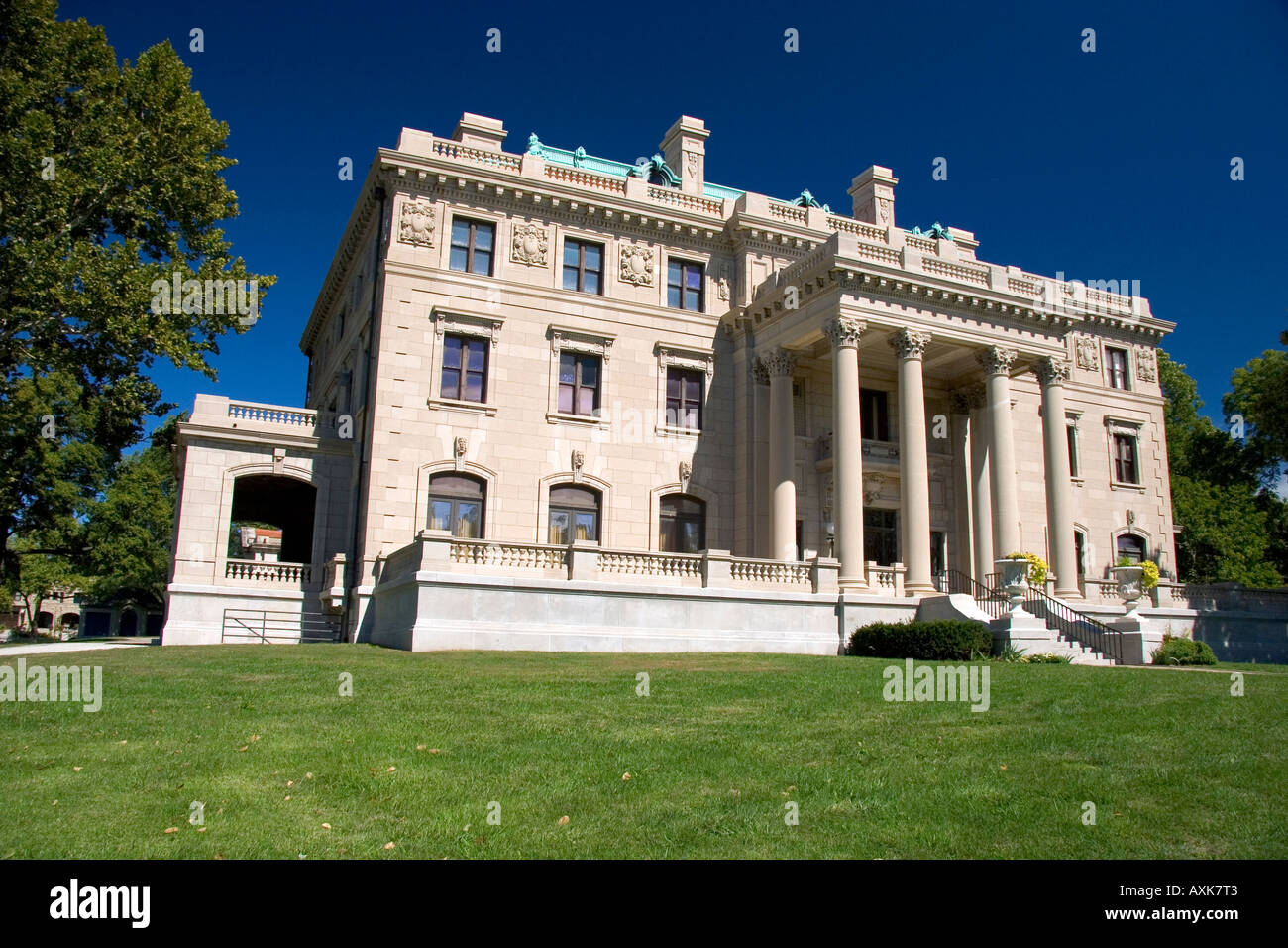 Corinthian Hall the Kansas City Museum of History and Science Missouri - Stock Image