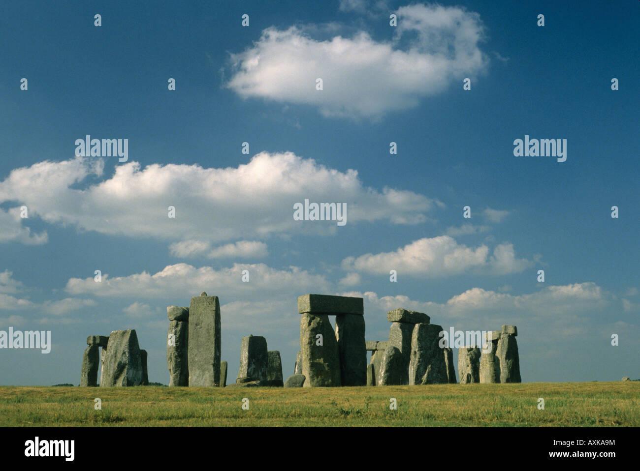 Stonehenge Neolithic Monument, Salisbury Plain, England UK - Stock Image