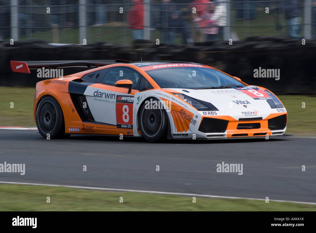 Lamborghini Gallardo Gt3 Sports Racing Car In British Gt