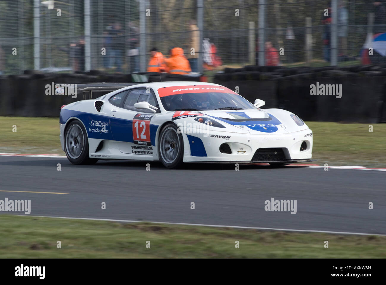 Ferrari 430 GT3 Sports Racing Car in British GT Championship at ...