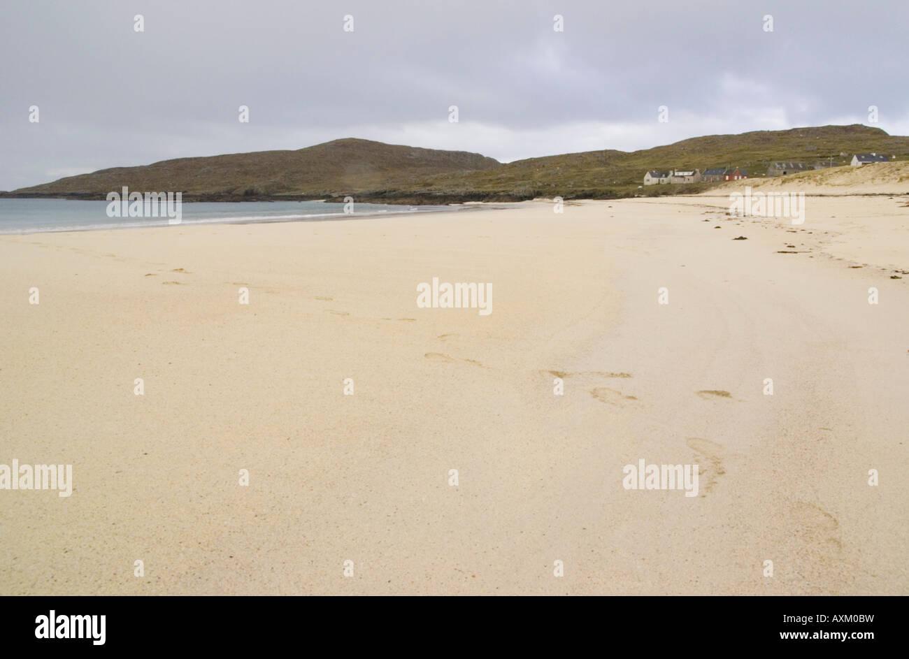 Huisinis beach North Harris Outer Hebrides Scotland - Stock Image