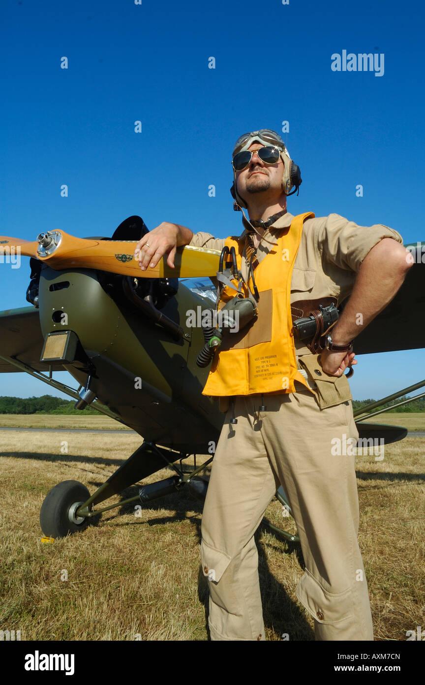 Wwii Pilot Uniform Stock Photos & Wwii Pilot Uniform Stock Images