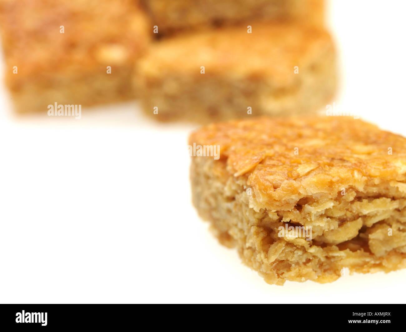 Butter Flapjacks - Stock Image