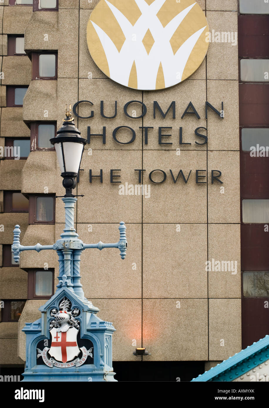The Tower, Guoman Hotels, London Stock Photo