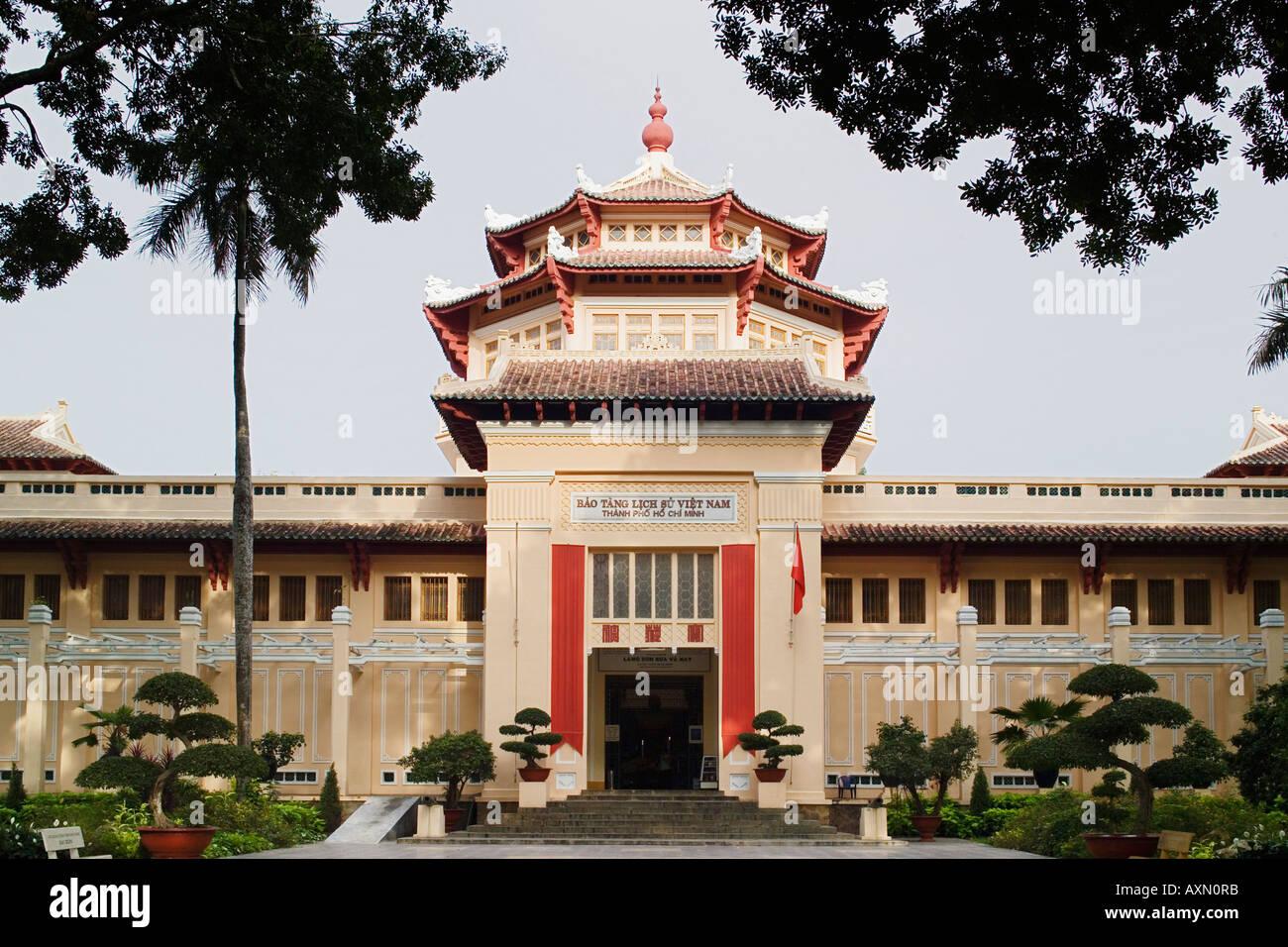 History Museum Ho Chi Minh City Saigon Vietnam Stock Photo