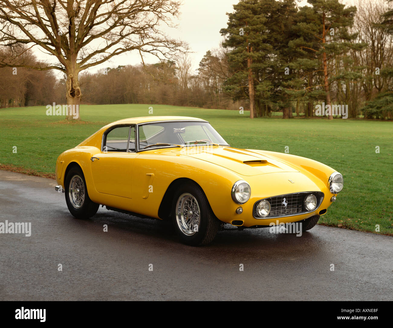 1960 Ferrari 250GT SWB competitzione 3 0 litre V12 Type 168 engine 280 bhp top speed 167 mph Country of origin Italy - Stock Image
