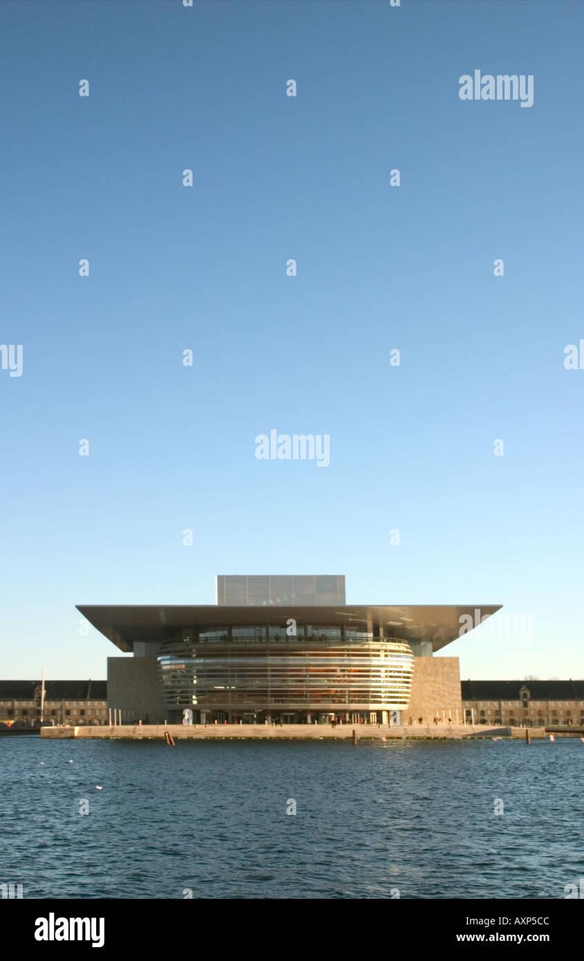 The New Opera House Copenhagen Denmark Stock Photo